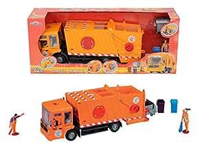 Majorette - 213414498 - Véhicule Miniature - Kidsmate Camion Benne - 38 Cm