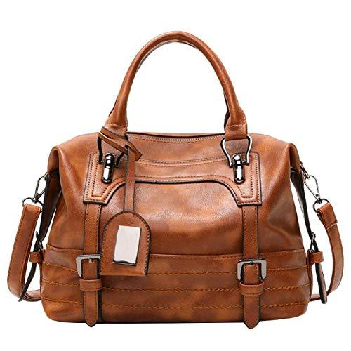 Fuchsia-gürtelschnalle (HHdstb Neue Pu Handtasche Hign Kapazität Vintage Quaste Umhängetaschen Für Frauen Gürtelschnallen Einkaufstasche)