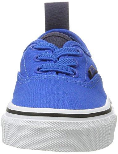 Vans Jungen Uy Authentic Elastic Lace Sneakers Blau (Canvas Imperial Blue/parisian Night)