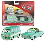 Disney Cars 3 Cast 1:55 -Sélection Véhicules Automobiles Modèles Double Pack, Cars Doppelpacks 2017:Dusty & Rusty Rust-Eze