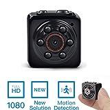 Caméra cachée Mini Spy -ENKLOV 1080P Caméra enregistreur vidéo portable Spy Voice avec vision nocturne, détection de mouvement, utilisation à l'intérieur / à l'extérieur
