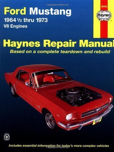 ford-mustang-v8-automotive-repair-manual-1964-1-2-thru-1973-by-j-h-haynes-published-by-haynes-publis