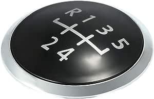 1x Schaltknauf Kappe Abdeckung Schalthebel Emblem Für 5 Gang Schaltgetriebe 106022 Hallenwerk Auto