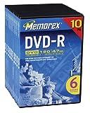 Memorex 4,7GB DVD-R Medien ER (10)