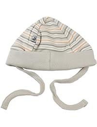 Jacky unisex Babymütze, 100% Baumwolle, Beige mit Ringelstreifen, Jacky Elephant, 314103