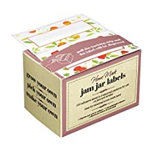 KitchenCraft Home Made Pack of 100 Assorted Chutney Jar Labels