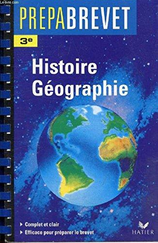 Histoire-géographie, 6e, professeur
