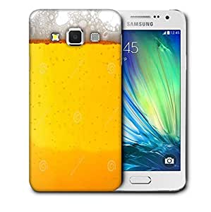 Snoogg Lovely Beer Designer Protective Back Case Cover For SAMSUNG GALAXY A3