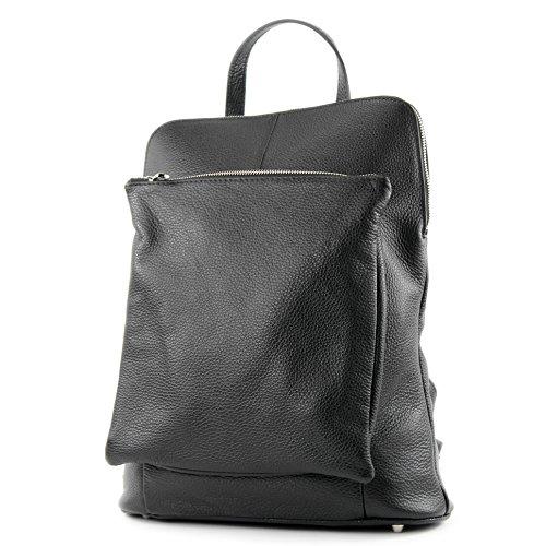 zaino in pelle zaino 3in1 zaino Citybag T141 Schwarz Precio Increíble 7hI6Ct