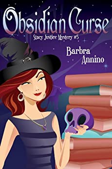 Obsidian Curse (A Stacy Justice Mystery Book 5) by [Annino, Barbra]