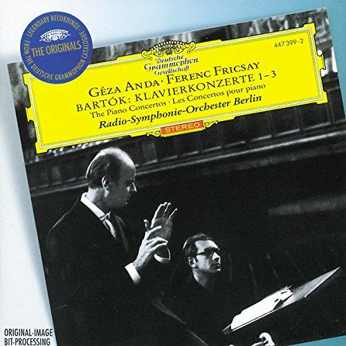 BARTOK - Concertos pour piano 1-3