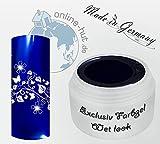 5ml UV Exclusiv Farbgel Wet look Blau