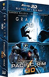 Gravity 3D + Pacific Rim 3D [Blu-ray 3D]