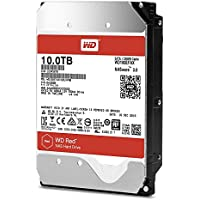 WD Red WD100EFAX 10TB interne Festplatte (8,9cm (3,5Zoll), SATA 6Gb/s, 256MB Cache 5400Rpm)
