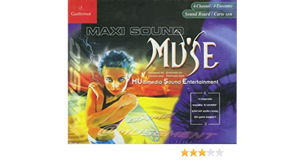 Guillemot Muse Sound Card