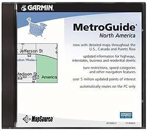 Garmin CD MetroGuide USA, Ver. 8