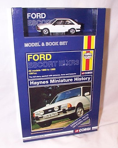 corgi-vanguards-ford-escort-iii-xr3-car-and-book-set-143-scale-diecast-model