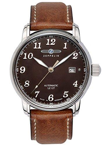 Zeppelin Mens Automatic Watch LZ127 Graf Zeppelin 8656-3
