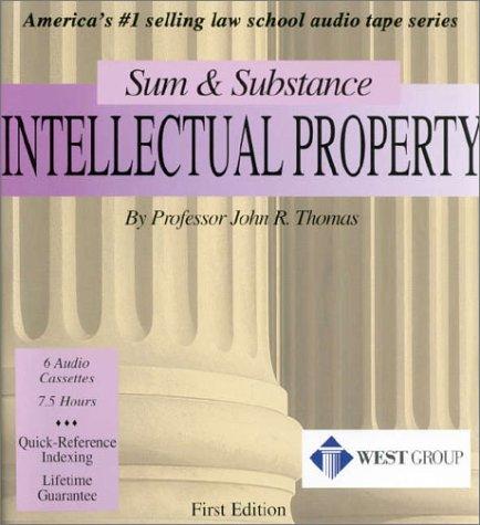 Intellectual Property (Set of 6 Audio Cassettes) (Sum & Substance)