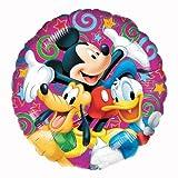 Mickey Mouse und Freunde Runde Folienballon (nicht aufgeblasenen)