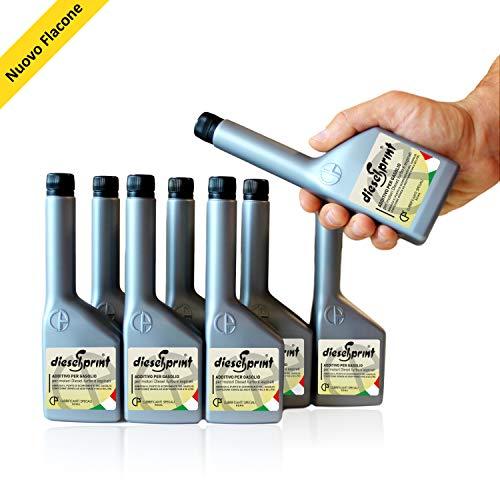 1 LITRO (8 flaconi da 125 ml) DIESELSPRINT Additivo multifunzione per motori Dies