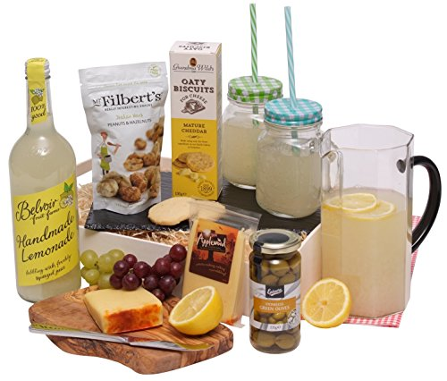 Refresh Hamper - The Perfect Alcohol Free Refreshing Food Hamper - Give As A Gift Or Treat Yourself
