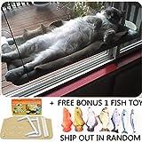 COUTUDI Juguetes para Gatos Cama Gato Hamaca Gato, Cómodo Descansando Cama de Dormir para Gran Gato Kitty de hasta 33 LB