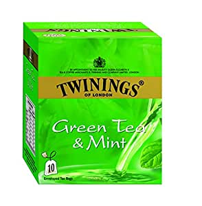 Twinings Green Tea With Mint, 10 Tea Bags
