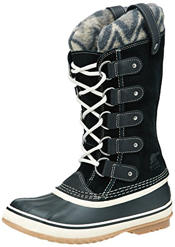 Sorel Joan Di Artico Knit Ii, Signore Snow Boot Black (010)