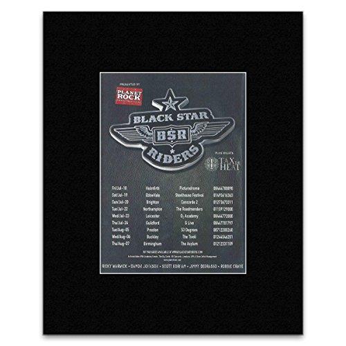 BLACK STAR RIDERS Juli- August 2014 UK Tour Poster, Miniposter, matt, 28 x 21 cm