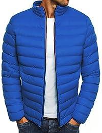 OZONEE Herren Winterjacke Steppjacke Sweatjacke Wärmejacke Jacke Gesteppt  J.Style 514K-10 ec2fd99482
