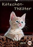Kätzchen - Theater (Wandkalender 2019 DIN A3 hoch): Wunderschöne Kätzchen-Bilder. (Planer, 14 Seiten ) (CALVENDO Tiere)