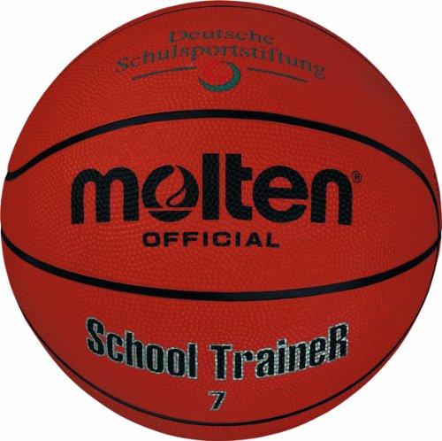 Molten Basketball B7ST, Orange, Größe 7