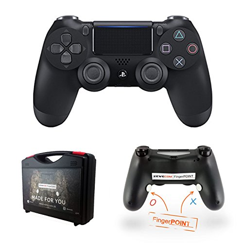Kewecom Playstation 4Dedos Point PS4scuf Controller-Negro