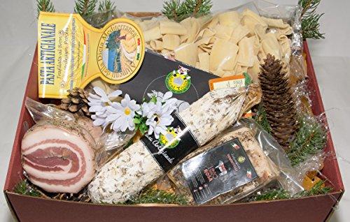 Scatola regalo economica 1 - salumificio artigianale gombitelli - scatole regalo collezione 2017