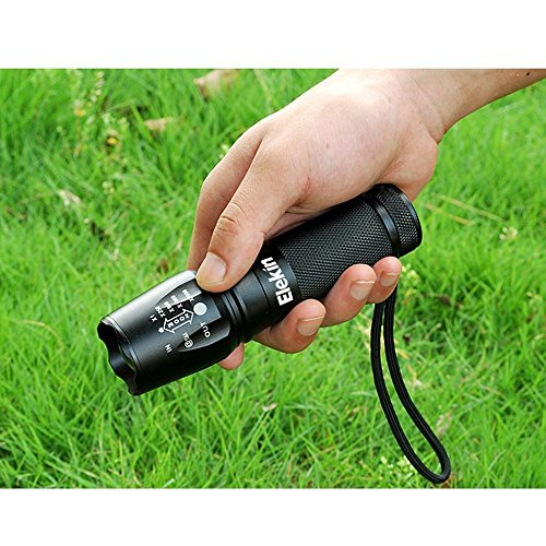 Elekin Taschenlampe 2000 Lumen LED Cree XM-L T6 - 6