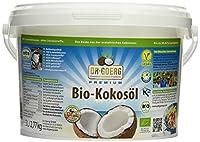 Premium Bio Kokosöl (3000ml Eimer) - Kaltgepresst unter 38°C Presstemperatur - Rohkostqualität