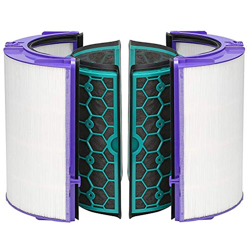 FIND A Ersatz-Luftreiniger, Glas, HEPA-Filter und Aktivkohlefilter für Dyson Hot und Cold DP04 HP04 TP04 Heatear & Cooler Pure Cool