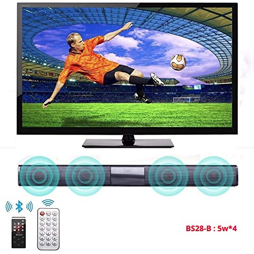 Wired Computer Subwoofer Stereo Bass Speaker 20W TV