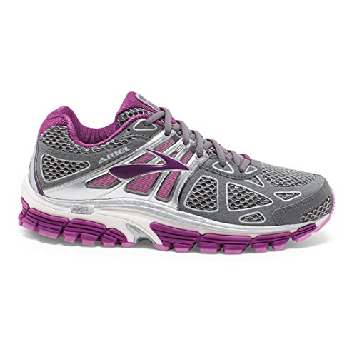 Brooks Ariel '14-120164 1b 085, Chaussures de Trail Femme Smoked Pearl-Hollyhock-Violet