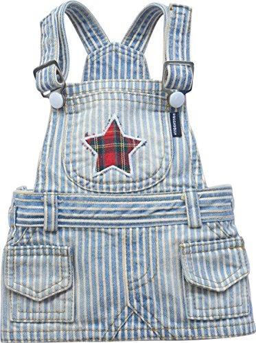 Doggy Dolly Dc038Perros vestido Star con peto Azul/Blanco Rayas