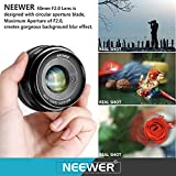 Neewer NW-E-50-2.0 50mm f/2.0 Manueller Fokus Prime - 6