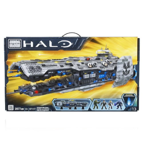 Mega Bloks HALO 4   97117 - Forward Unto Dawn - das Halo 4 Mutterschiff