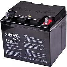 Vipow - Batería de Movilidad 12V 40Ah Bateria de ciclo profundo de gel. Pila recargable