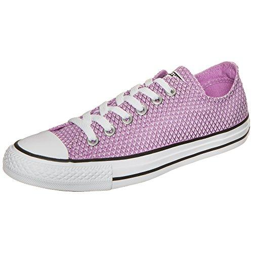 Lila Converse Sneakers (Converse All Star Ox Damen Sneaker Lila)