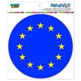 EU Europäische Union Europa National Land Flagge Mag-Neato 's-TM) Automotive Car Kühlschrank Locker Vinyl Magnet