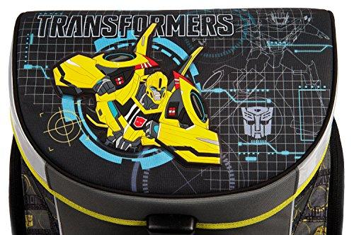 Undercover TFUV7293 Kindergartentasche, Transformers, ca. 21 x 22 x 8 cm Schulranzen Set Campus Up, 6 teilig