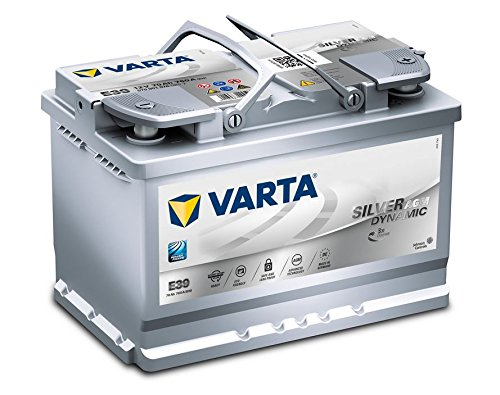 Varta Start Stop Plus - Batteria per auto AGM E39 70 Ah