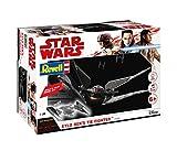 Revell Build & Play - Star Wars Kylo Ren's TIE Fighter - 06760, Maßstab 1:70, originalgetreue Nachbildung mit beweglichen Teilen, mit Light&Sound Effekten, robust zum Spielen