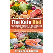 The Keto Diet: Your Empowering Guide to the Advantages of a High-Fat, Low-Carb Diet.: Ketogenic Cookbook Recipes and Understanding for Rapid Weight loss. (English Edition)